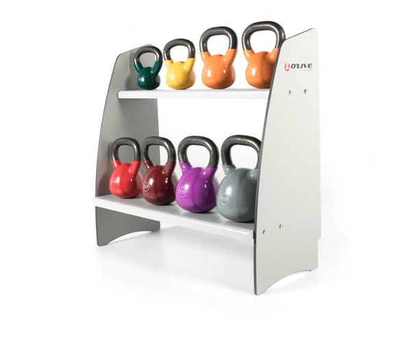 Olive Kettlebell Compat Rack Product