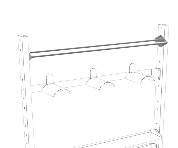 Olive Multiple Rack Ball Shelf Product 3
