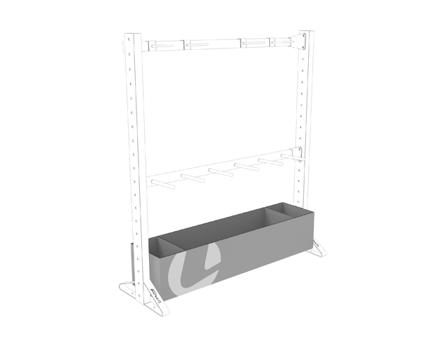 Olive Multiple Rack Box Shelf Product