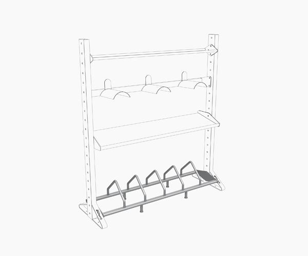 Olive Multiple Rack Plates-Bosus Shelf Product 2