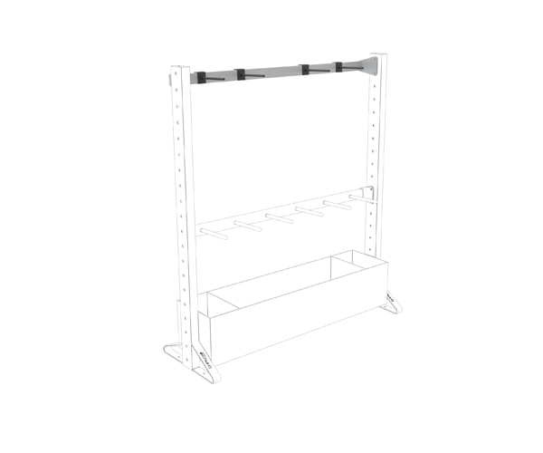 Olive Multiple Rack Small Flat Shelf Product 4
