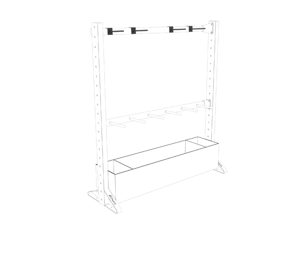 Olive Multiple Rack Versatile Shelf Supports Product