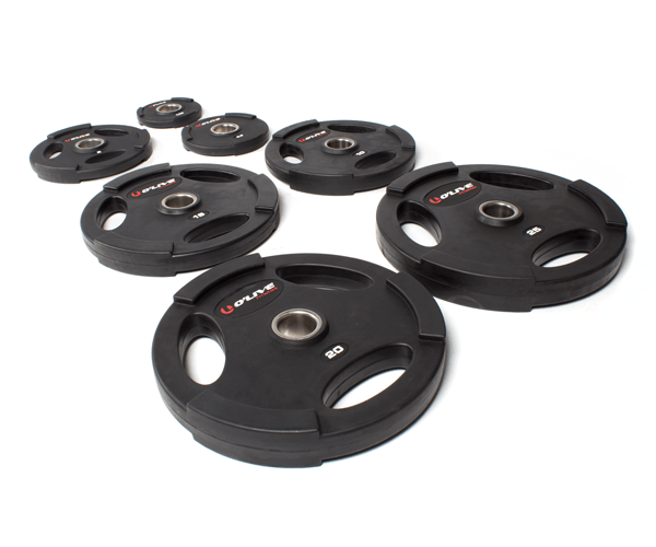 Olive Olympic Rubber Discs Portada