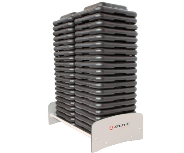 Olive Step Block Compact Rack PORTADA