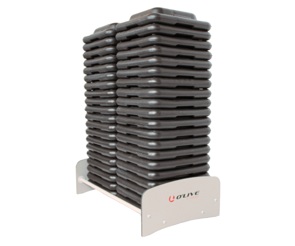 Olive Step Block Compact Rack Product