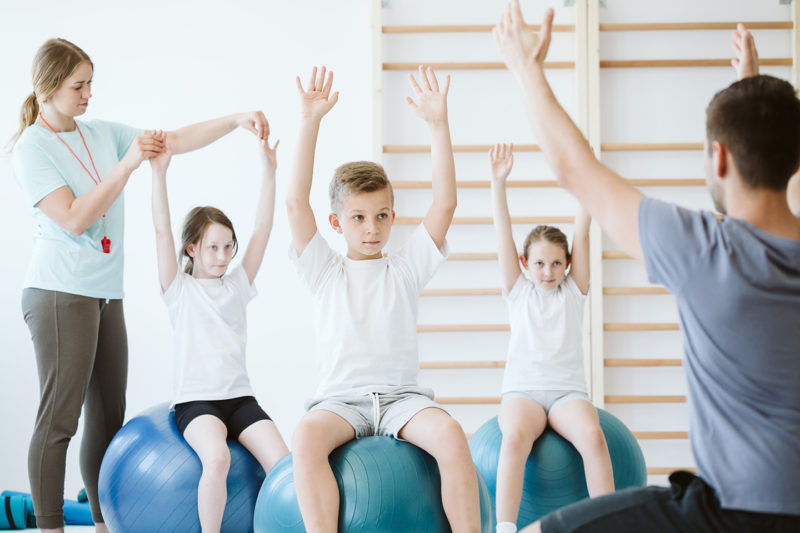 functional training for kids