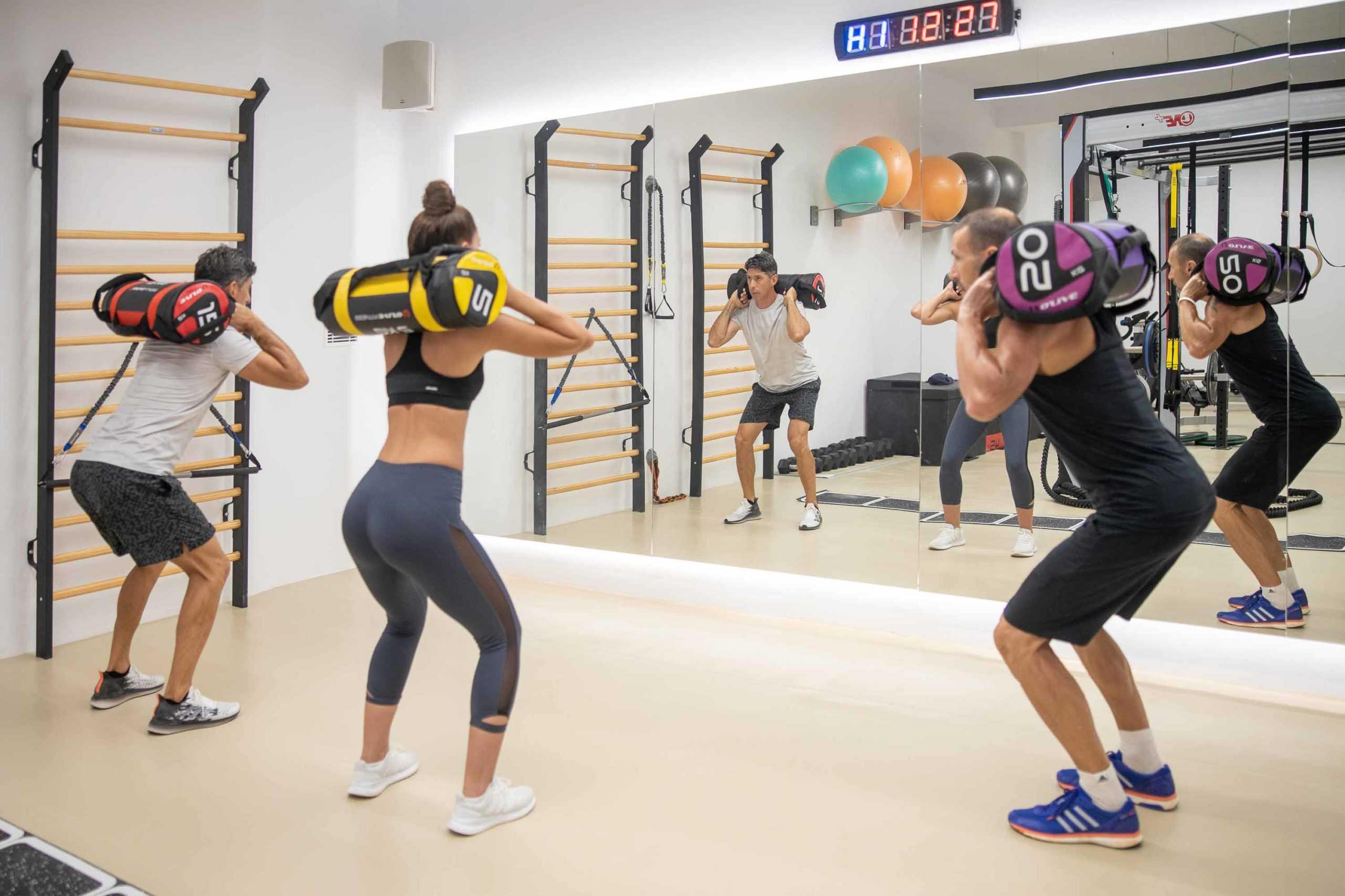 new fitness area